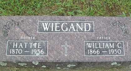 """SCHULTZ WIEGAND, HEDWIG """"HATTIE"""" - Baxter County, Arkansas   HEDWIG """"HATTIE"""" SCHULTZ WIEGAND - Arkansas Gravestone Photos"""