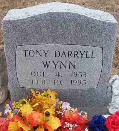 WYNN, TONY DARRYLL - Baxter County, Arkansas | TONY DARRYLL WYNN - Arkansas Gravestone Photos