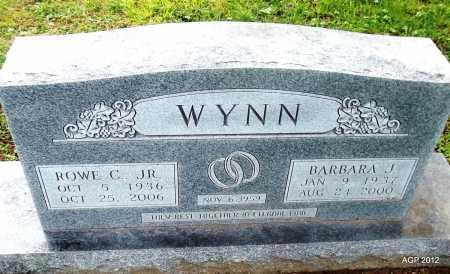 WYNN, BARBARA JANE - Benton County, Arkansas | BARBARA JANE WYNN - Arkansas Gravestone Photos