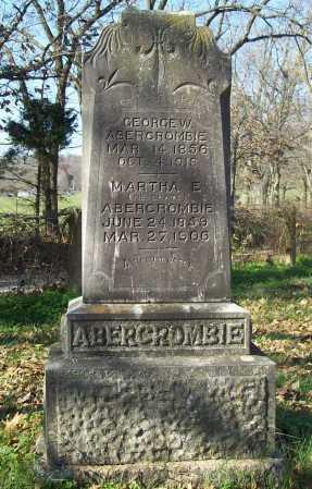 ABERCROMBIE, MARTHA ELNORA - Benton County, Arkansas | MARTHA ELNORA ABERCROMBIE - Arkansas Gravestone Photos