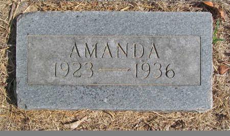 ARMSTRONG, AMANDA AMELIA - Benton County, Arkansas | AMANDA AMELIA ARMSTRONG - Arkansas Gravestone Photos
