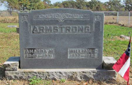 WATTS ARMSTRONG, AMANDA MATILDA - Benton County, Arkansas | AMANDA MATILDA WATTS ARMSTRONG - Arkansas Gravestone Photos