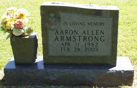 ARMSTRONG, AARON ALLEN - Benton County, Arkansas   AARON ALLEN ARMSTRONG - Arkansas Gravestone Photos