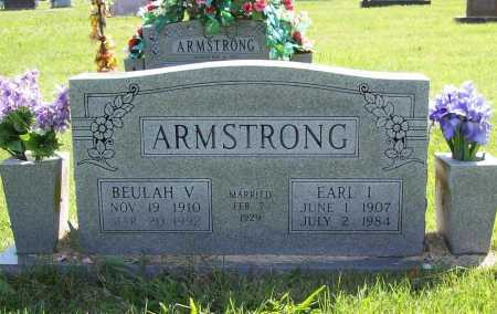 ARMSTRONG, EARL I. - Benton County, Arkansas | EARL I. ARMSTRONG - Arkansas Gravestone Photos
