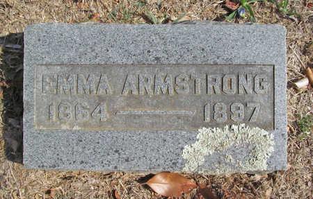 ARMSTRONG, EMMA - Benton County, Arkansas   EMMA ARMSTRONG - Arkansas Gravestone Photos