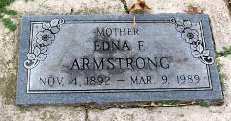 ARMSTRONG, EDNA F. - Benton County, Arkansas | EDNA F. ARMSTRONG - Arkansas Gravestone Photos