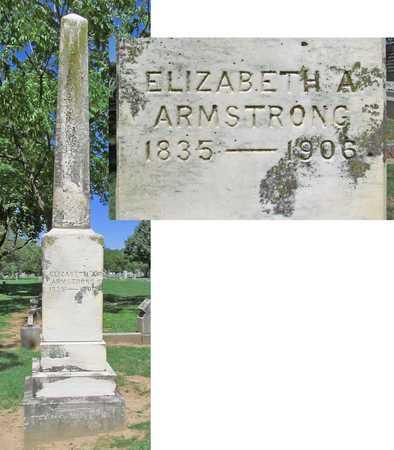 ARMSTRONG, ELIZABETH A - Benton County, Arkansas | ELIZABETH A ARMSTRONG - Arkansas Gravestone Photos