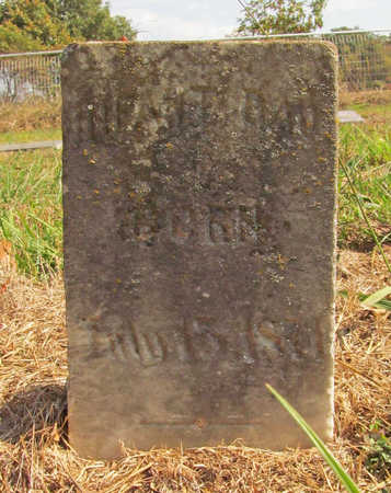 ARMSTRONG, INFANT DAUGHTER - Benton County, Arkansas | INFANT DAUGHTER ARMSTRONG - Arkansas Gravestone Photos