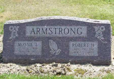 ARMSTRONG, ROBERT H. - Benton County, Arkansas   ROBERT H. ARMSTRONG - Arkansas Gravestone Photos