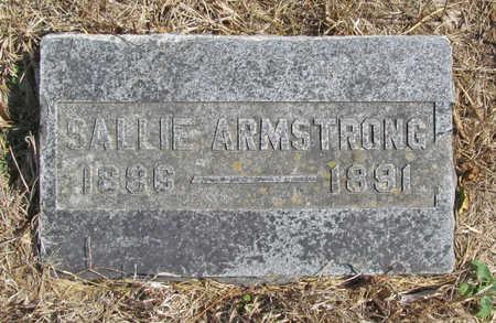 ARMSTRONG, SALLIE - Benton County, Arkansas | SALLIE ARMSTRONG - Arkansas Gravestone Photos