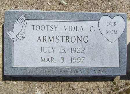 "ARMSTRONG, VIOLA C. ""TOOTSY"" - Benton County, Arkansas   VIOLA C. ""TOOTSY"" ARMSTRONG - Arkansas Gravestone Photos"