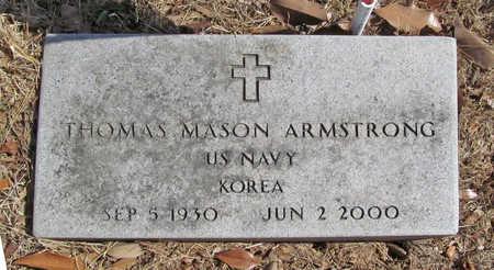 ARMSTRONG (VETERAN KOR), THOMAS MASON - Benton County, Arkansas   THOMAS MASON ARMSTRONG (VETERAN KOR) - Arkansas Gravestone Photos