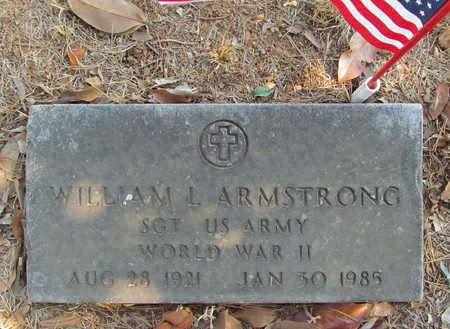 ARMSTRONG (VETERAN WWII), WILLIAM L - Benton County, Arkansas | WILLIAM L ARMSTRONG (VETERAN WWII) - Arkansas Gravestone Photos