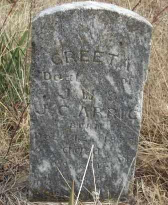 ARRIC, CREETA - Benton County, Arkansas | CREETA ARRIC - Arkansas Gravestone Photos