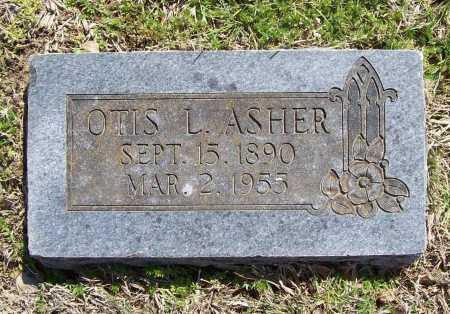 ASHER, OTIS L. - Benton County, Arkansas | OTIS L. ASHER - Arkansas Gravestone Photos
