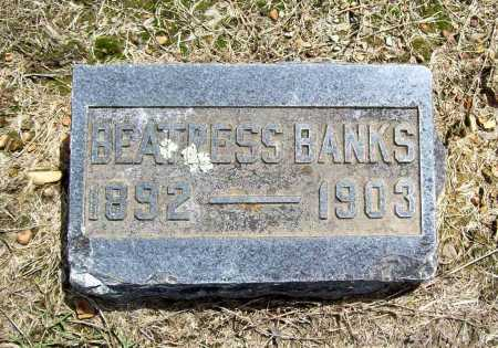 BANKS, BEATRESS - Benton County, Arkansas | BEATRESS BANKS - Arkansas Gravestone Photos
