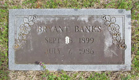 BANKS, BRYANT - Benton County, Arkansas | BRYANT BANKS - Arkansas Gravestone Photos