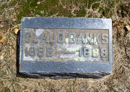BANKS, CLAUD - Benton County, Arkansas | CLAUD BANKS - Arkansas Gravestone Photos