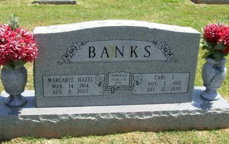 BANKS, MARGARET HAZEL - Benton County, Arkansas | MARGARET HAZEL BANKS - Arkansas Gravestone Photos