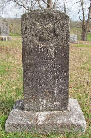 BANKS, ELIZABETH ANN - Benton County, Arkansas | ELIZABETH ANN BANKS - Arkansas Gravestone Photos