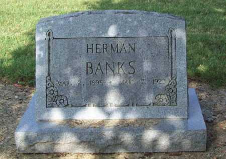 BANKS, HERMAN - Benton County, Arkansas | HERMAN BANKS - Arkansas Gravestone Photos