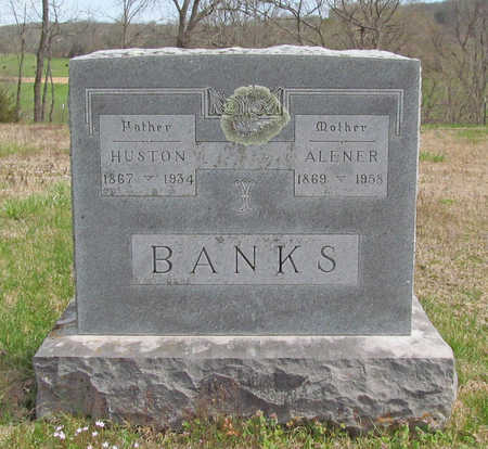 BANKS, HUSTON - Benton County, Arkansas | HUSTON BANKS - Arkansas Gravestone Photos