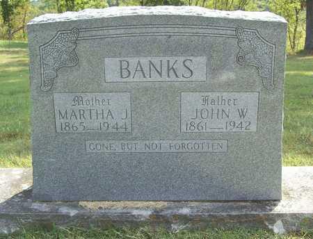 BANKS, JOHN W - Benton County, Arkansas | JOHN W BANKS - Arkansas Gravestone Photos
