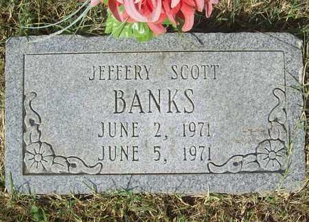 BANKS, JEFFERY SCOTT - Benton County, Arkansas | JEFFERY SCOTT BANKS - Arkansas Gravestone Photos