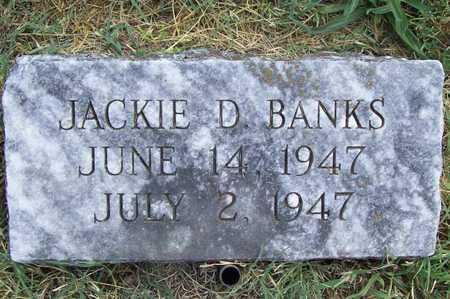 BANKS, JACKIE D - Benton County, Arkansas   JACKIE D BANKS - Arkansas Gravestone Photos