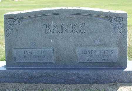BANKS, JOSEPHINE - Benton County, Arkansas   JOSEPHINE BANKS - Arkansas Gravestone Photos