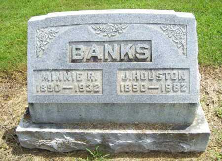 BANKS, JOHN HOUSTON - Benton County, Arkansas | JOHN HOUSTON BANKS - Arkansas Gravestone Photos