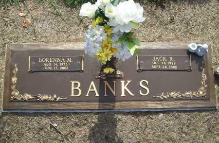 BANKS (VETERAN), JACK RONALD - Benton County, Arkansas | JACK RONALD BANKS (VETERAN) - Arkansas Gravestone Photos