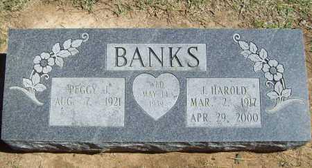 BANKS, J. HAROLD - Benton County, Arkansas | J. HAROLD BANKS - Arkansas Gravestone Photos
