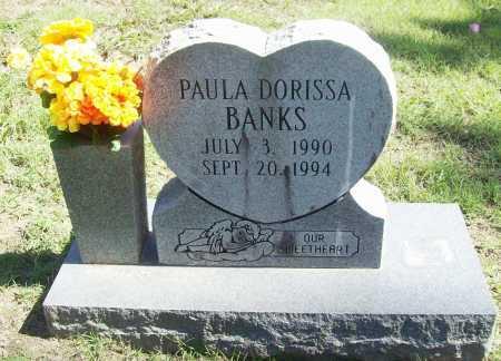 BANKS, PAULA DORISSA - Benton County, Arkansas | PAULA DORISSA BANKS - Arkansas Gravestone Photos