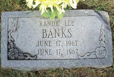 BANKS, RANDY LEE - Benton County, Arkansas | RANDY LEE BANKS - Arkansas Gravestone Photos