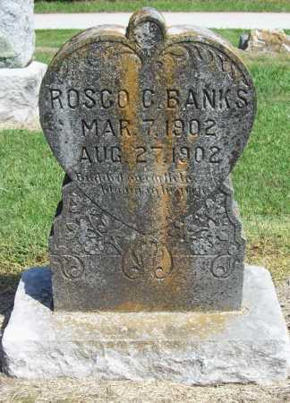BANKS, ROSCO C. - Benton County, Arkansas | ROSCO C. BANKS - Arkansas Gravestone Photos