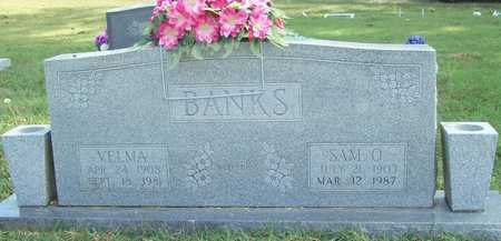BANKS, SAM O - Benton County, Arkansas | SAM O BANKS - Arkansas Gravestone Photos