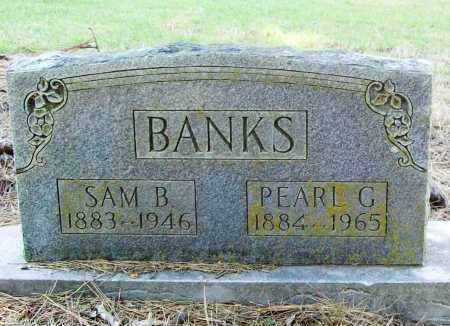 BANKS, SAM B. - Benton County, Arkansas | SAM B. BANKS - Arkansas Gravestone Photos