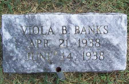BANKS, VIOLA B - Benton County, Arkansas | VIOLA B BANKS - Arkansas Gravestone Photos
