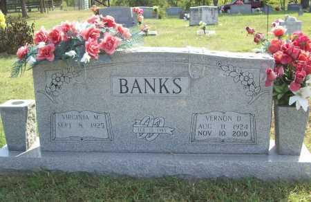 BANKS, VERNON D - Benton County, Arkansas | VERNON D BANKS - Arkansas Gravestone Photos
