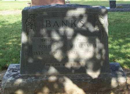 BANKS, BIRD E. - Benton County, Arkansas   BIRD E. BANKS - Arkansas Gravestone Photos