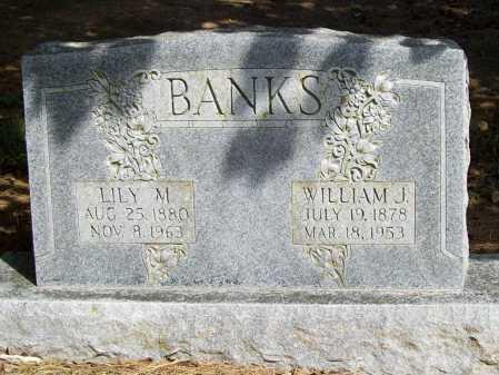 BANKS, WILLIAM J. - Benton County, Arkansas | WILLIAM J. BANKS - Arkansas Gravestone Photos
