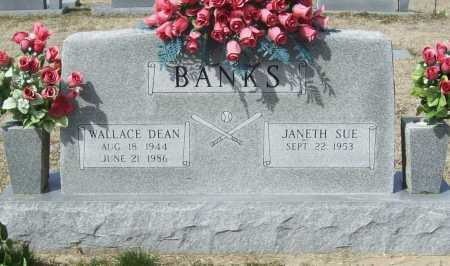 BANKS, WALLACE DEAN - Benton County, Arkansas | WALLACE DEAN BANKS - Arkansas Gravestone Photos