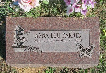 BARNES, ANNA LOU - Benton County, Arkansas | ANNA LOU BARNES - Arkansas Gravestone Photos