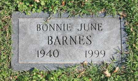 BARNES, BONNIE JUNE - Benton County, Arkansas | BONNIE JUNE BARNES - Arkansas Gravestone Photos