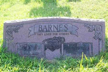 BARNES, DAVID S. - Benton County, Arkansas | DAVID S. BARNES - Arkansas Gravestone Photos