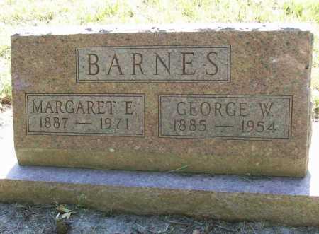 BARNES, GEORGE W. - Benton County, Arkansas | GEORGE W. BARNES - Arkansas Gravestone Photos