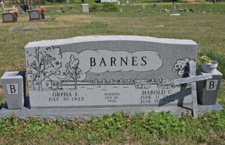 BARNES, ORPHA - Benton County, Arkansas | ORPHA BARNES - Arkansas Gravestone Photos