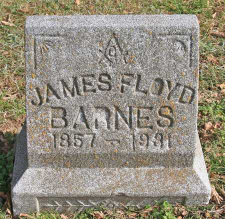 BARNES, JAMES FLOYD - Benton County, Arkansas | JAMES FLOYD BARNES - Arkansas Gravestone Photos
