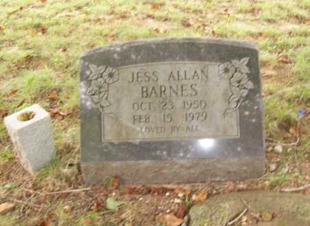BARNES, JESS ALLAN - Benton County, Arkansas | JESS ALLAN BARNES - Arkansas Gravestone Photos